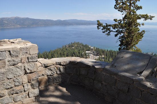 Crystal Bay, NV: Observation point above Cal-Neva