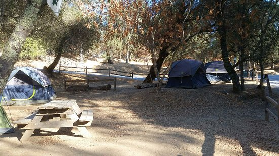 Coloma, CA: Our Campsite