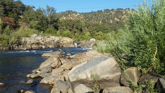 Coloma, CA: The river near the campsite (not Middle Fork)