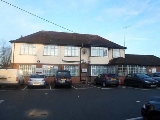 West Drayton, UK: Main building