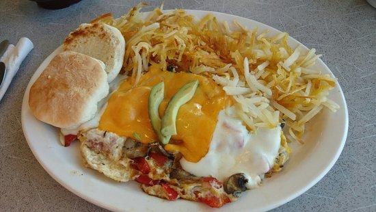 Nederland, Колорадо: Veggie omelette