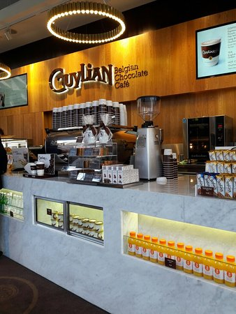 Greater Sydney, Australië: Guylian Belgian Chocolate Cafe