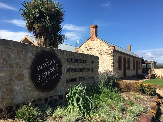 McLaren Vale, Australien: Oliver's Taranga Vineyards Cellar Door and Winery