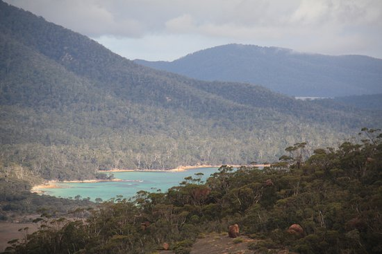 Coles Bay, Australia: the other side of the bay
