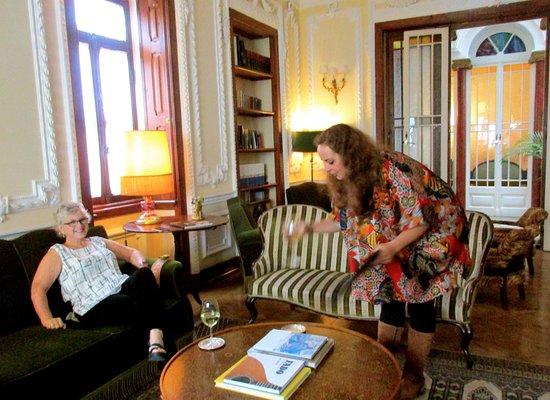 Palacete Chafariz D'El Rei: She was so helpful