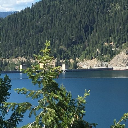 Hungry Horse, Монтана: The reservoir