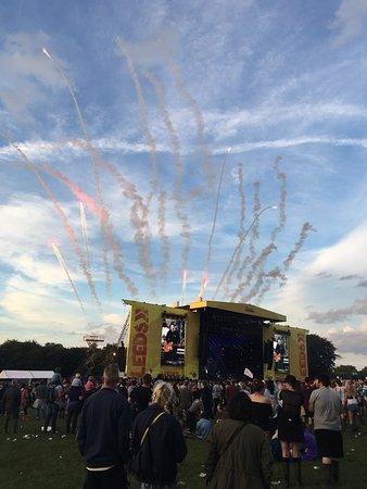 Wetherby, UK: Leeds festival