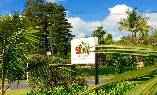 Kerikeri, Nowa Zelandia: Entrance