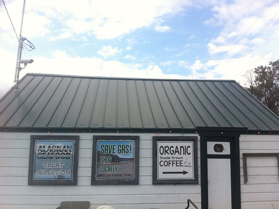 Marrowstone Island, WA: Go for the organic coffee!!!  The Mochas are great!