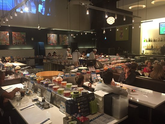 Blue C Sushi Seattle 1510 7th Ave Restaurant Reviews