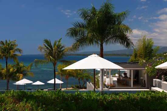 The Lombok Lodge: vista dalla poolside suite