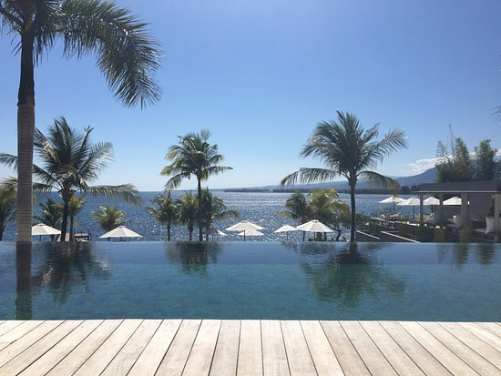 The Lombok Lodge: infinity pool
