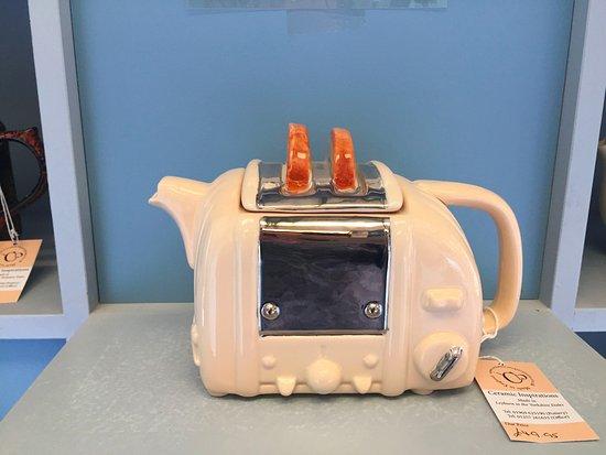 Leyburn, UK: Teapot