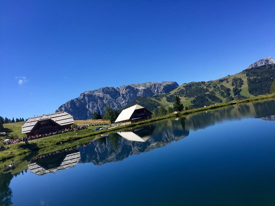 Hermagor, Austria: Nässend