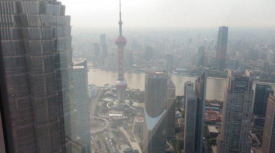 Park Hyatt Shanghai: view from the 79th floor