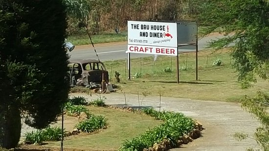 Hekpoort, Sudáfrica: The Bru House & Diner