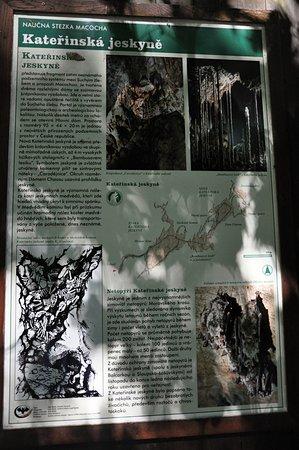 Blansko, Czech Republic: Informace o Kateřinské jeskyni
