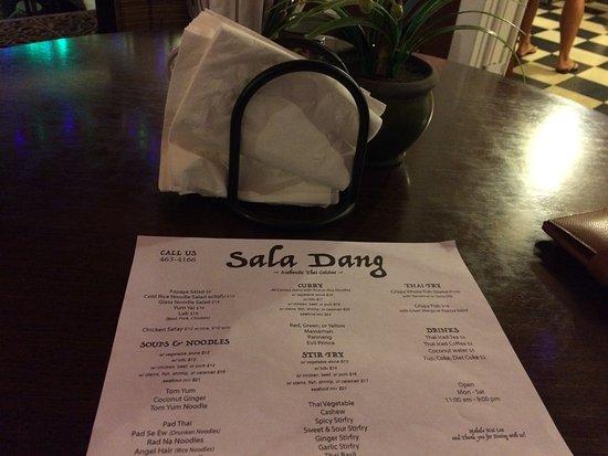 Haiku, هاواي: menu