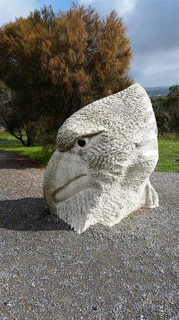 Angaston, Australia: looks like an eagle?