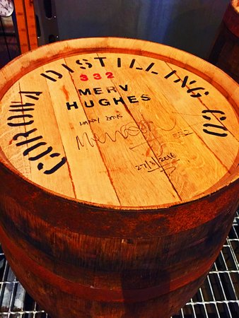 Corowa, Αυστραλία: Merv Hughes' whisky barrel