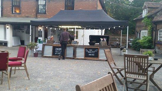 Wrotham, UK: Servery