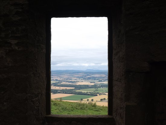 Kinpurnie Estate: The view from the tower