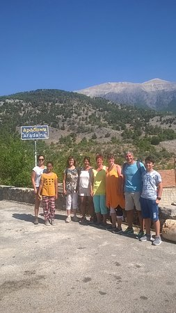 Plakias, Grecia: At the entrance of the gorge/ Eingang der Schlucht