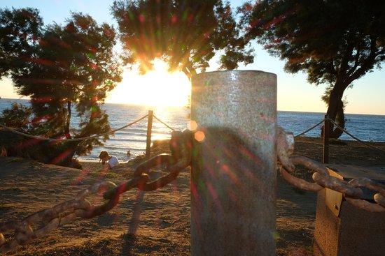 tramonto sul golfo di Baratti