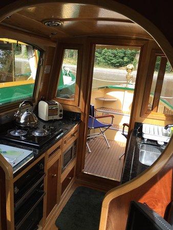 Llangattock, UK: Beautiful 5* narrowboat
