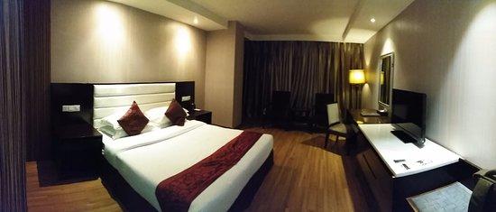 Landscape Hotel: Room in night mode