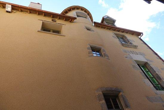 Aubusson, Frankrig: Le bâtiment vue de l'extérieur