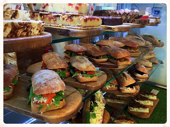 Cromford, UK: Gourmet Sandwiches