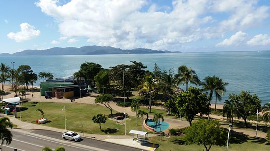 Aquarius on the Beach: View across to Magnetic Island