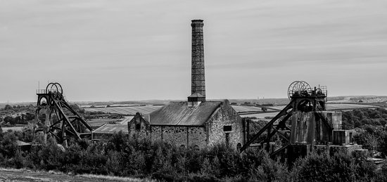Mansfield, UK: A rare example of what an English colliery looked like, before they've all gone.