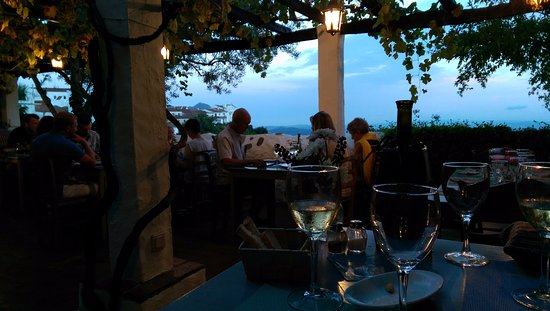 Gaucin, Spanien: The view from the terrace