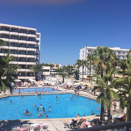 Sol Alcudia Center Apartamentos: View from hotel restaurant