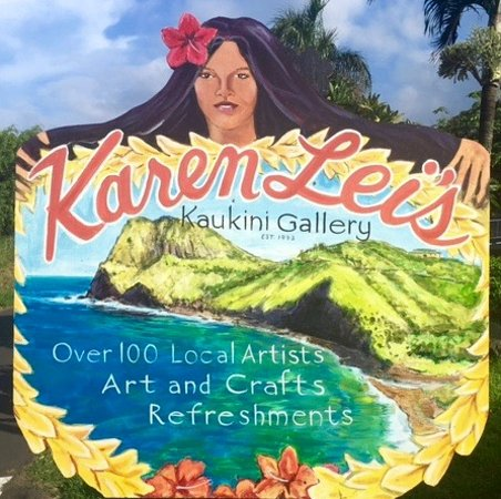 Wailuku, HI: Karen Lei's Kaukini Gallery