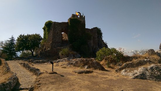 Gaucin, Spain: The tower providing the best views over the surrounding area
