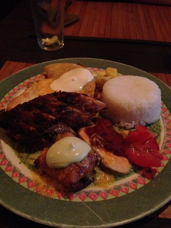 Brazza Tex Mex: Mixed Mexican Plate