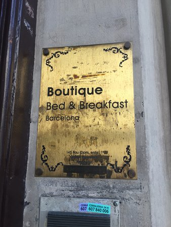 Boutique Bed and Breakfast: Placa del portal