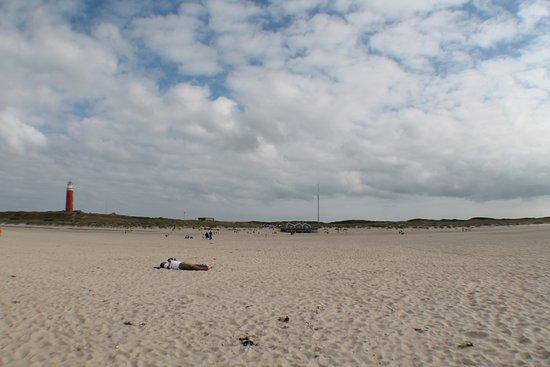 De Cocksdorp, Nederländerna: l'immensa spiaggia