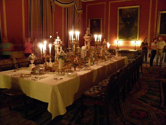 Shrewsbury, UK: dining room