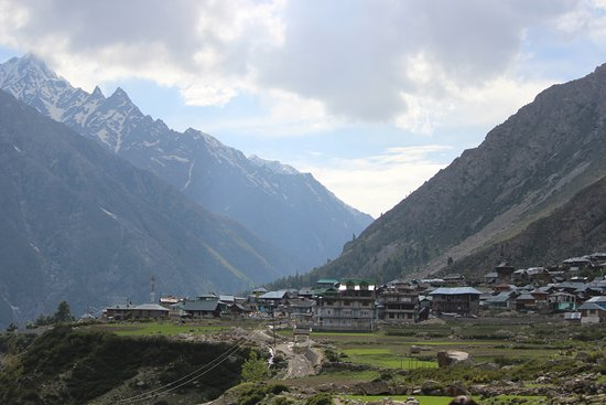 Sangla, Indien: Chhitkul from its farms