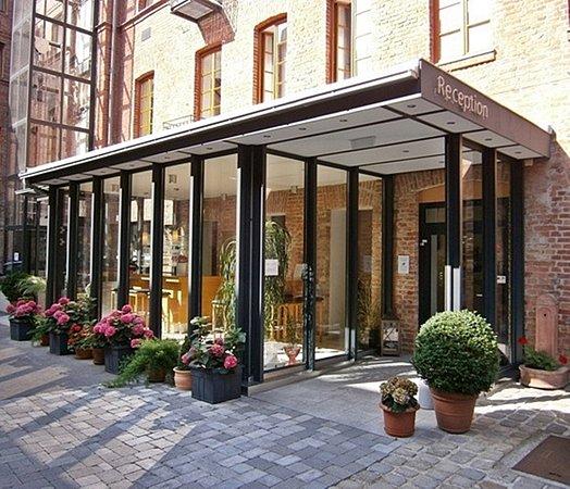 Hotel Fabrik: Hoteleingang