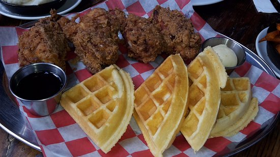 Southern Hospitality BBQ: Southern Fried Chicken with Waffles