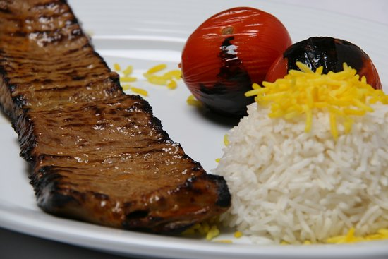 Reza Restaurant: lamb grill steak-barg