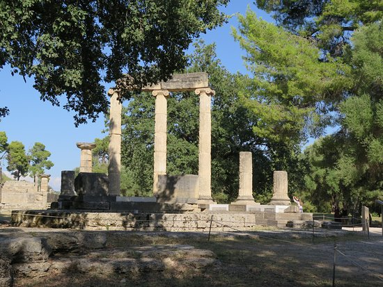 Ancient Olympia: Le temple d'Héra