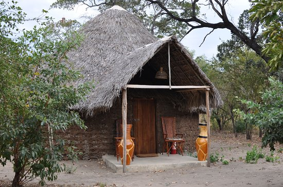 Selous Game Reserve, แทนซาเนีย: Mudhut