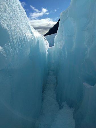 Ледник Фокса, Новая Зеландия: Walking between Ice Sheets