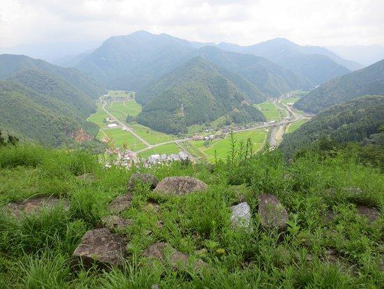 Wakasa-cho, Japão: 天守跡からの眺め